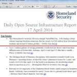 TelexFree 'Top Story' In Department Of Homeland Security's Daily Infrastructure Report