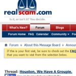 Quatloos Mod, RealScam.com, PP Blog Targeted In Bizarre Hectoring Campaign